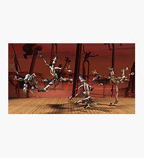 Robots Ballet Photographic Print