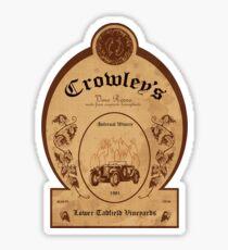 Crowley's Infernal Winery Sticker