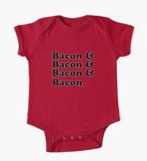Bacon & Bacon & Bacon & Bacon One Piece - Short Sleeve