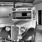 Ambulance circa 1940 by Francis Drake