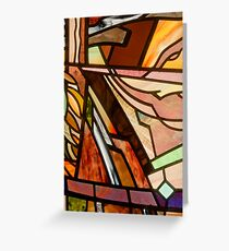Country House Window: detail Greeting Card