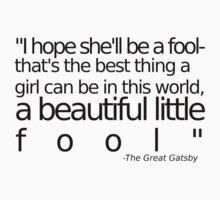 I hope she'll be a fool... by loveaj