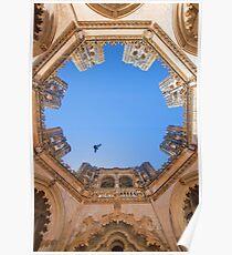 King D.Duarte Pantheon. O Céu das Capelas Imperfeitas. Batalha Monastery Poster