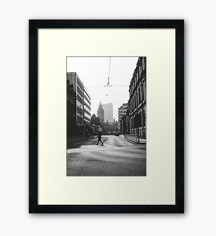Leopold Street Framed Print
