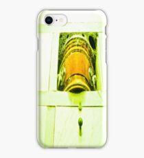 Dead human casket. iPhone Case/Skin