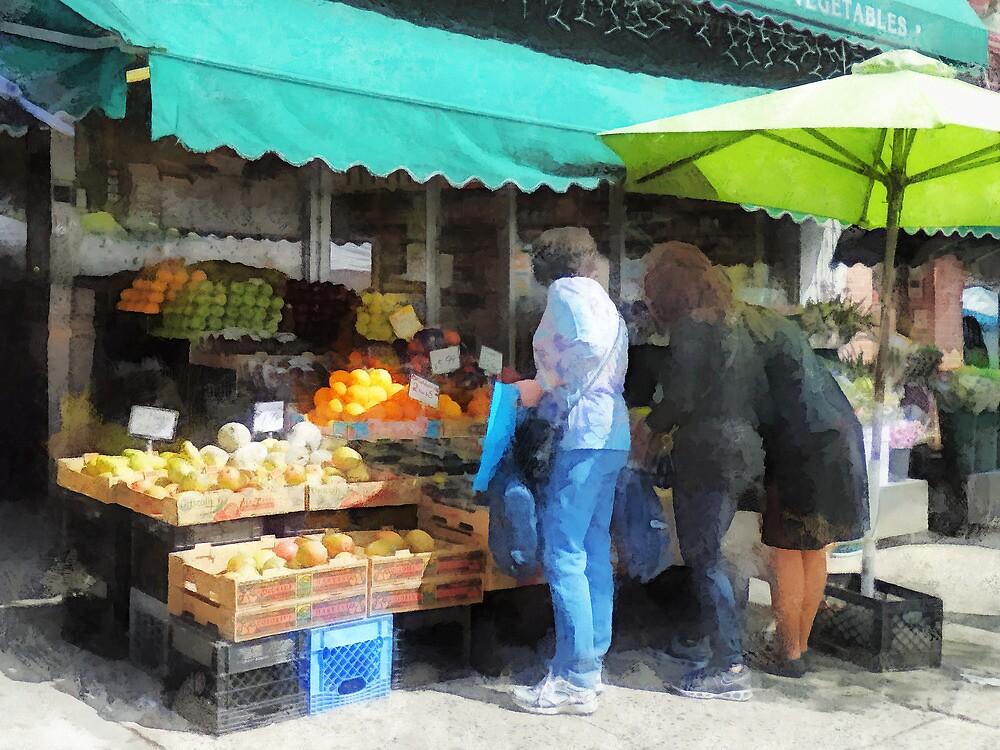 Fruit For Sale Hoboken NJ by Susan Savad