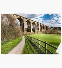 Cefn Viaduct  Poster