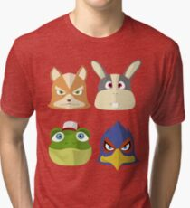 Team StarFox Tri-blend T-Shirt