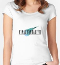 Block Fantasy VII Women's Fitted Scoop T-Shirt