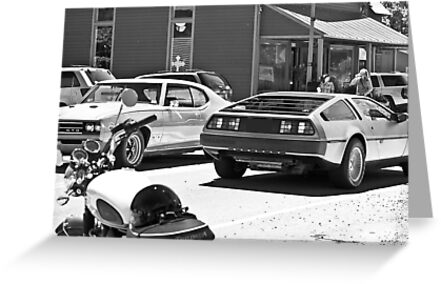 AMC Delorean/GTO JUDGE/Triumph Bonneville all in 1 - Liepers Fork, TN  by Daniel  Oyvetsky