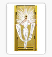 White Gold Sticker
