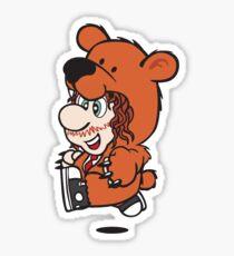 Marioholic Sticker