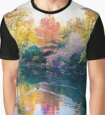 Foliage in central park Graphic T-Shirt