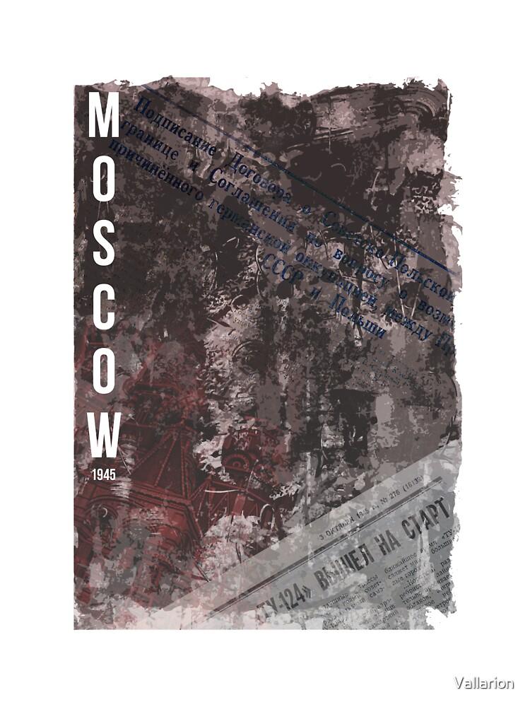 Moscow, 1945 by Oskar Strom