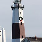 Lighthouse in the Hamptons by Cathy Cale