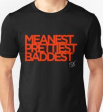 Meanest, Prettiest, Baddest (Shonuff The Master) T-Shirt