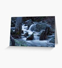 Eagle Falls - Top Greeting Card