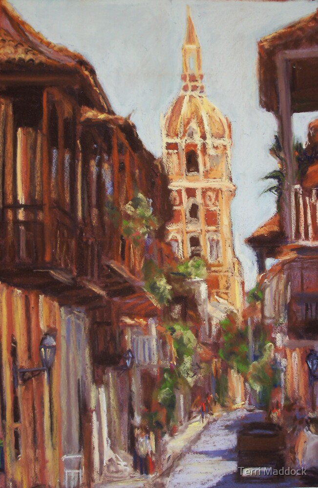 Cartagena, Colombia by Terri Maddock