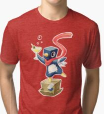 Party Penguin Tri-blend T-Shirt