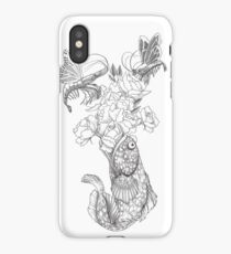 Butterfly Shrimp iPhone Case