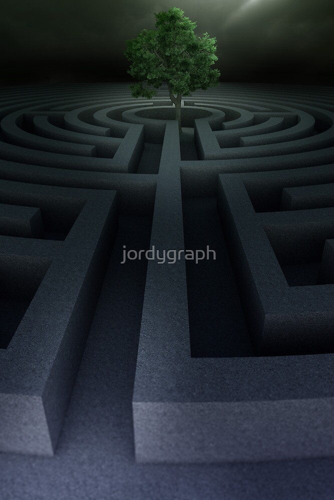 Tree into the maze by jordygraph
