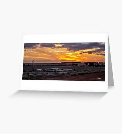 Fortynine Gates Road Greeting Card