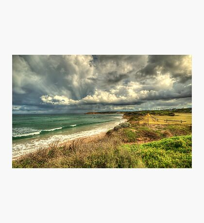 Stormy Skies over Torquay Photographic Print