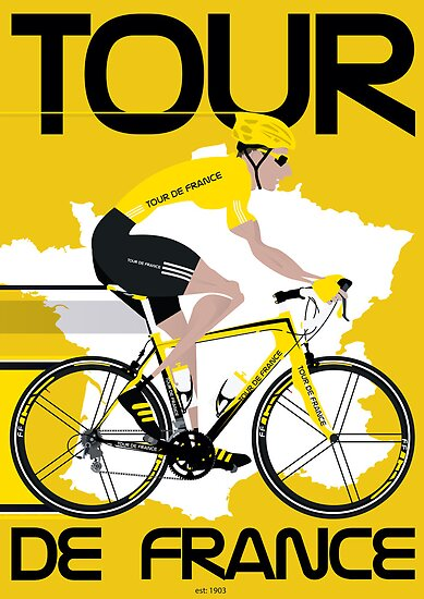 Tour De France by Andy Scullion