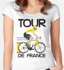 Camiseta entallada de cuello ancho Tour de Francia