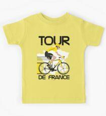 Camiseta para niños Tour de Francia