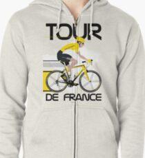 Tour De France Zipped Hoodie