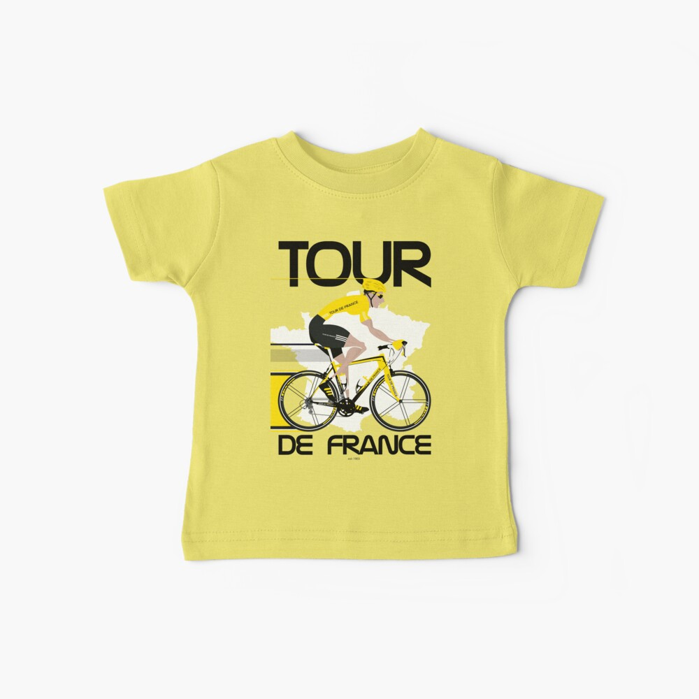 Tour De France Baby T-Shirt