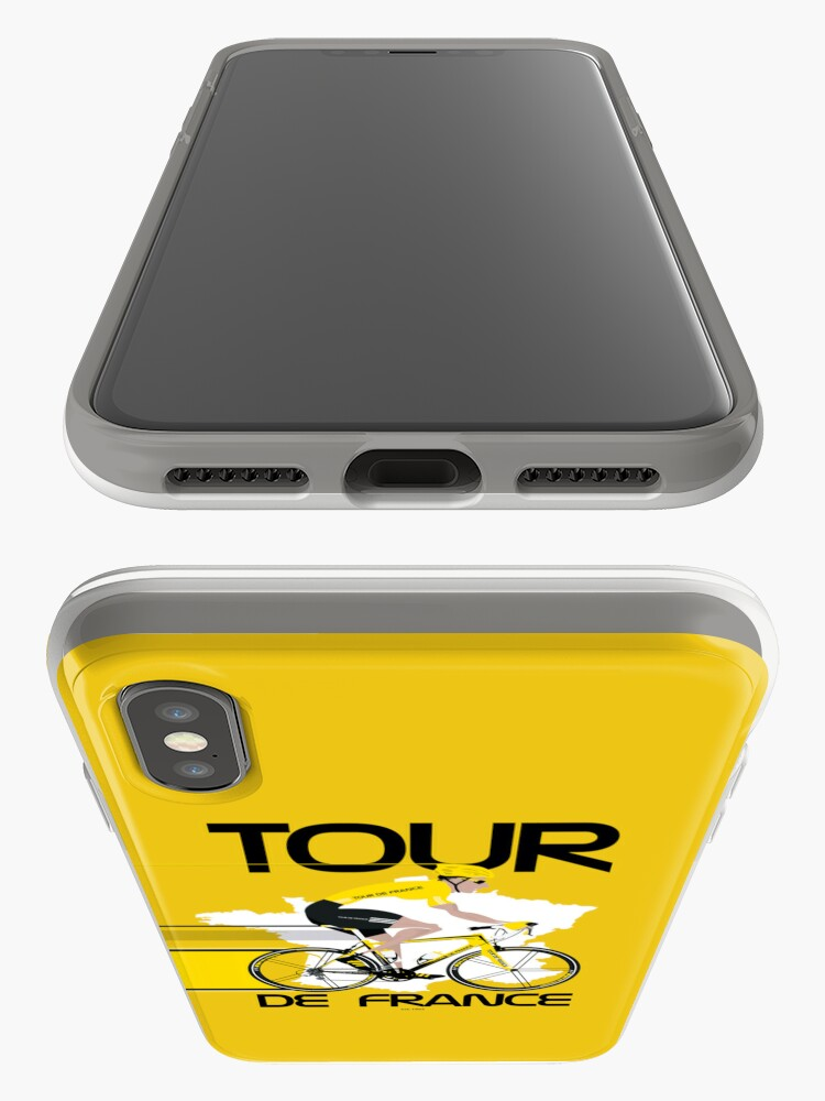 Alternate view of Tour De France iPhone Case & Cover