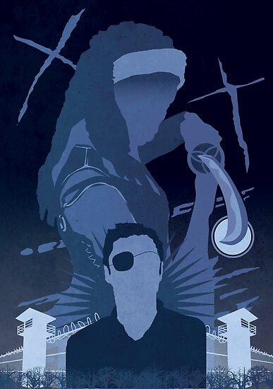 The Walking Dead Satirical Fan Art - Michonne by Carl Huber