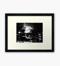 P.Coates- Mirror pond Framed Print