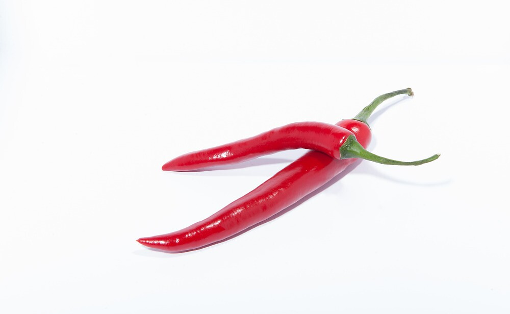 Red Hot Chilli by Michael Hollinshead