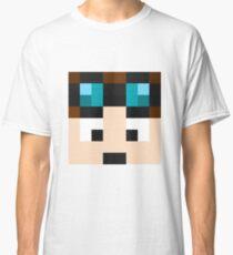 TheDiamondMinecart Minecraft skin Classic T-Shirt