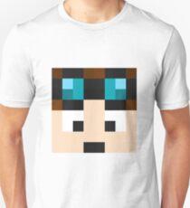 TheDiamondMinecart Minecraft skin Unisex T-Shirt