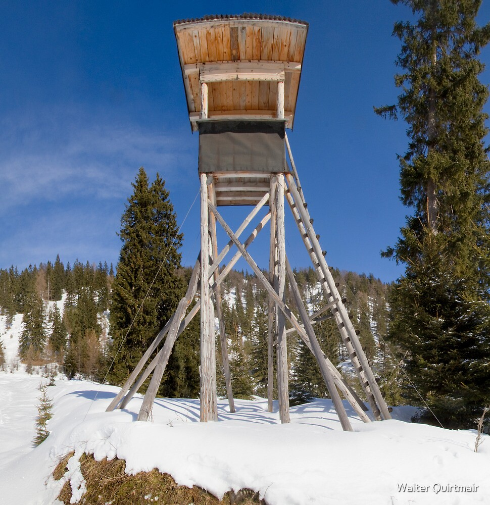 High Seat by Walter Quirtmair