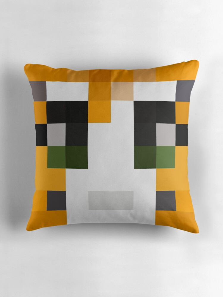 Quot Stampy Minecraft Skin Quot Throw Pillows By Youtubedesign