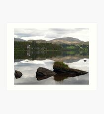 Lough Eske Reflections Art Print