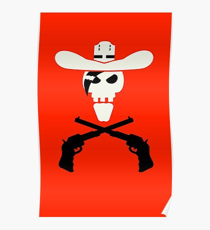 Dead Cowboy VRS2 Poster