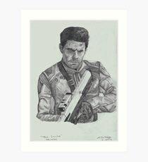 Tom Cruise in Oblivion Art Print