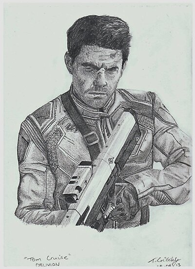 Tom Cruise in Oblivion by TomGraphics