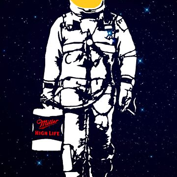 Badass Astronaut - Yellow Visor by Sieell
