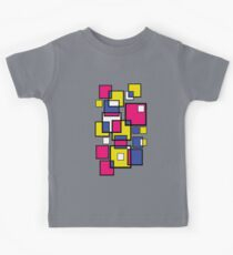 Abstract squares! Kids Tee
