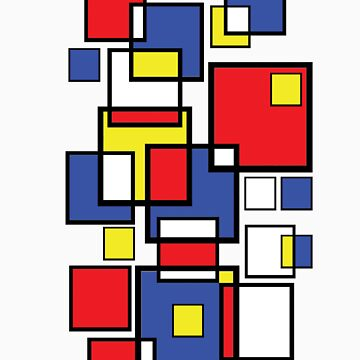 Abstract squares! by Nimi