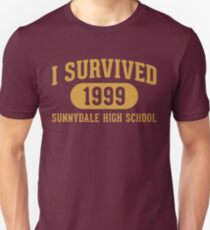 Camiseta ajustada Sobreviví a Sunnydale High