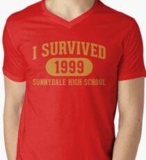 I Survived Sunnydale High Men's V-Neck T-Shirt