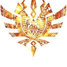 Monster Hunter 4 Logo FIRE by RavishingRyan